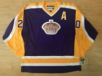 CCM VINTAGE LOS ANGELES KINGS  20 LUC ROBITAILLE JERSEY NWT XXL 6e8440d70