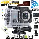 4K Ultra-HD 1080P Wifi 16MP Action Sports Camera+Diving 30m Waterproof Case V5C2