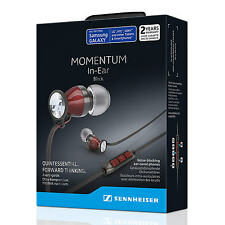 Neuf sennheiser M2IEi momentum écouteurs intra-auriculaires pour andriod smartphone-red uk