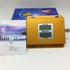900/1800MHz 2g/4g LTE GSM Dual Band Cellular Mobile Signal Booster Amplifier