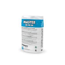 Master 20-20-20 VALAGRO Concime fertilizzante idrosolubile sacco da 10 kg