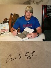 Chris Kyle The American Sniper Signed Autographed Book PSA/DNA Authentic + Photo