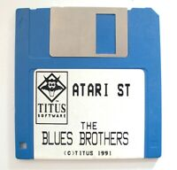 Rare : THE BLUES BROTHERS Jeu / Game for ATARI ST 520 / 1040 / MEGA ST / STE