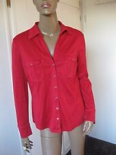 Betty Barclay tolle Bluse 40/42 langarm rot
