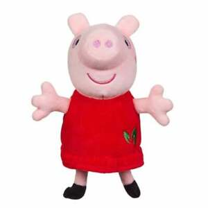 Peppa Pig Collectables 15cm Eco Plush Supersoft Soft Toy 100% Recycled Materials