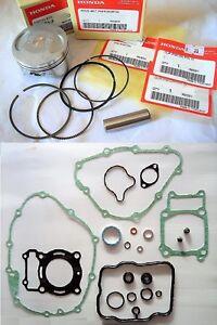 Honda CBR125 R Piston & Rings + FULL GASKETS Set 2004 2005 2006 2007 2008 2009