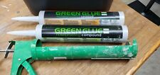 New ListingGreen Glue NoiseProofing Acoustical Caulk Sealant & Compound- 1 Tube Each