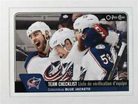 2016-17 O-Pee-Chee #624 Columbus Blue Jackets CL - NM-MT