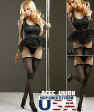 1/6 Sexy Stripper Dancer Dress Stockings Set B For Phicen Hot Toys Female Figure