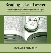 Reading Like a Lawyer: Time-Saving Strategies for Reading Law Like an Expert, Ru