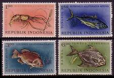 Fish Indonesian Stamps