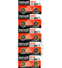LR44  AG13 1.5V  Alkaline battery  A76   G13 , GP76A  batteries  by Maxell  x 10