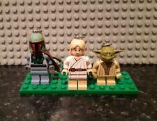 Lego Star Wars minifigures - 3 Key Chain figures including Boba Fett