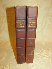 Antique Collectable Books A Chronicle Of The Conquest Of Granada  Vol. I-II-1829