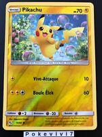 Carte Pokemon PIKACHU 19/68 REVERSE Soleil et Lune 11.5 SL11,5 FR NEUF