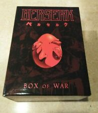 Berserk BOX OF WAR Complete 6 Disc DVD Set Collector Case