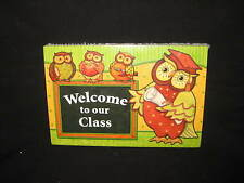 Welcome to Our Class Classroom Owl Postcards Teacher Created Resources 30-Pack
