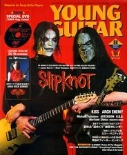 MICK THOMPSON JIM ROOT SLIPKNOT DVD LESSON YOUNG GUITAR AUGUST 2004 JAPAN IMPORT