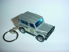 NEW 3D SILVER LAND ROVER 90 CUSTOM KEYCHAIN keyring key 4x4 offroad truck BEST