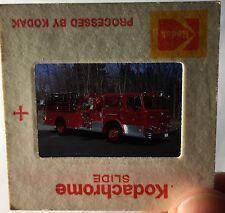 Foto Dia-positivo vigili del fuoco 1971 Maxim 1000/750, ENG. 35, Bantam CT