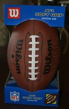 Football Nfl Wilson Soft-Grip Official Size New in Box Ages 14 & up