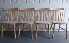 Brand New Solid Beech Modern Nordic Scandinavian Country Kitchen Dining Chairs