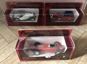 Matchbox Diecast Models Of Yesteryear Classic Cars X3 (Rare).