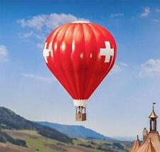 More details for faller swiss flag hot air balloon model kit iv ho gauge 131004