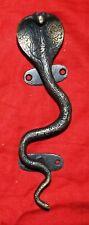 Brass Vintage Style Black Snake Figure Door Handle Lounge Pull Door Handle CS 36