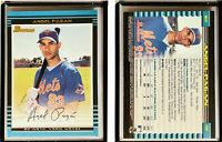 Angel Pagan Signed 2002 Bowman #167 Card New York Mets Auto Autograph