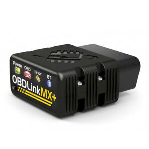 OBDLink MX+ Bluetooth OBD2 Scanner, Trip-Logger and Vehicle Data Scan Tool