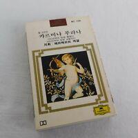 UNIQUE Carl Orff Carmina Burana Korean Printed Wrap Deutsche Grammophon Cassette