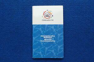 1994 Eurotunnel Medallion in Presentation Pack