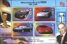 sénégal Bloc 83 oblitéré 1999 constructeurs automobiles de tomaso