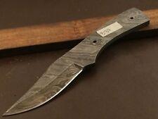 Handmade Pattern Welded Damascus Steel Blade Blank-Knife Making-Klinge-B37