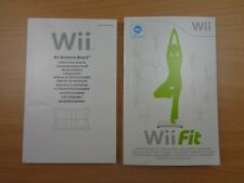 Bundle: Wii Fit Balance Board THICK MANUAL + Wii Fit THICK MANUAL