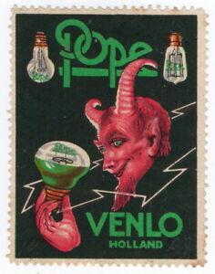 (I.B) Netherlands Cinderella : Pope Lamps (Venlo)