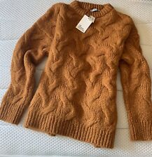 Zara Chunky Knit Oversized Wool Mohair Sweater / Jumper M Bloggers Favourite NWT