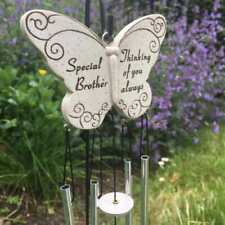 Brother Graveside Memorial Tribute Hanging Butterfly Windchime DF15019J