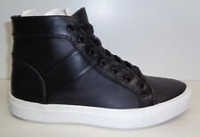 Steve Madden Size 13 M THEO Black High Top Fashion Sneakers New Mens Shoes