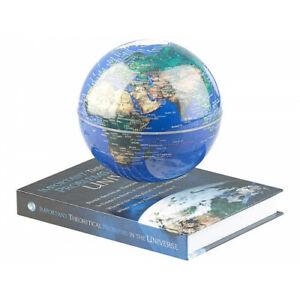 Globe terrestre en lévitation sur base livre GEOLITE