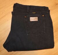 Vtg Wrangler Cowboy Cut Sz 50x32 Men's Western Rodeo Black Jeans Made In The USA