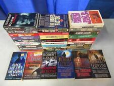 BIG Lot of (32) ROBERT LUDLUM Spy Thriller Books COVERT ONE JASON BOURNE SERIES