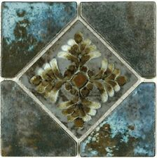 Fujiwa Porcelain glazed Swimming Pool Waterline Tile JOYA-504 COTTO 6 x 6 PAC8