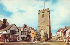uk11309 clock tower newton abbot  uk