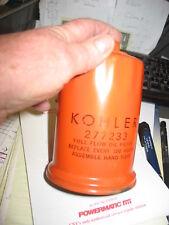 NOS KOHLER OIL FILTER 277233 WITH NUT
