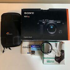 Sony RX1R II (BUNDLE! Includes LHP-1 Lens Hood, Heliopan Filter, Lowepro Case +)