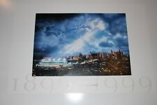 """AL KALINE SIGNED TIGERS STADIUM """"GONE BUT NOT FORGOTTEN"""" LITHOGRAPH 36""""x24"""""""