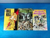 PACK COMICS 3 TOMOS ENRIQUE VEGAS - BILL KILL A TODO VOLUMEN EDITORIAL SIURELL