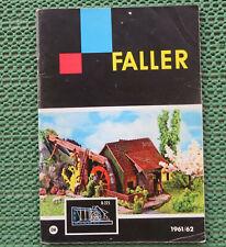 Faller Modelmaking Catalogue 1961/62, 64-seitig - Language German